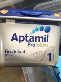 Aptimal Profutura First Baby Premium Milk 3 x tubs sealed