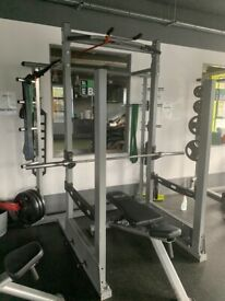 Power Cage/Squat Rack/multi grip- Amazing Condition