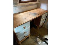 FREE pinewood desk / dresser