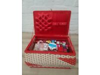 Retro Sewing Box (DELIVERY AVAILABLE)