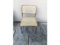4 x John Lewis Marcel Breuer/Thonet style dining chairs ONO