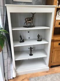 Grey Painted Bookcase