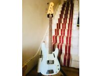 Fender American Vintage 63 Presicion Bass Sonic Blue Great condition Original Case and tags included