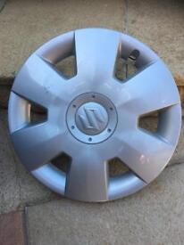 Four suzuki swift wheel trims