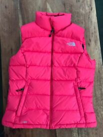 North Face Pink Gillet size 12 £30