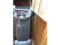 Sportstech F10 Treadmill for sale inc Vivofit2 Watch, UK Adaptor required.