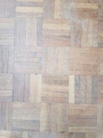 Wanted teak 5 finger parquet flooring 1970/80,s to patch up floor