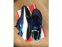Air huarache deep royal blue & green