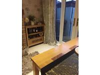Table unit bench free chairs