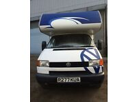 VOLKSWAGEN T4 T5 CAMPER COACHBUILT WITH KITCHEN CONVERSION SINK COOKER FRIDGE PART EX POSSIBLE