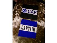 Chelsea Captains Armbands. One signed by Frank Lampard. £15 for both