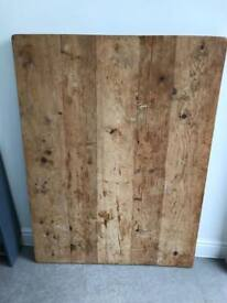 Solid wood dining table top