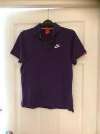 Girls age 12-13 purple Nike top FREE