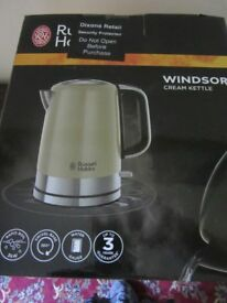 Cream Windsor Cream Kettle
