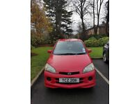 Daihatsu YRV Red 2003 5 Door Hatchback 94,000 Miles