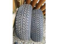175 65 14 nexen snow tyres as new fit yaris Corsa clio