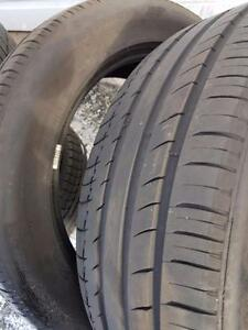 4 Used 255/55/20 Summer Tires