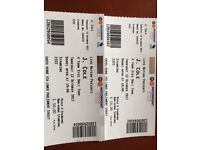 2 standing tickets J COLE tonight 12/10/2017 NOTTINGHAM £40 total