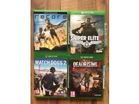 xbox one games , as new ! £15 each ! price stands , no offers !