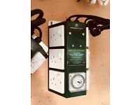 used 6 light GreenPower timer unit Collection only Cheshunt Hydroponics