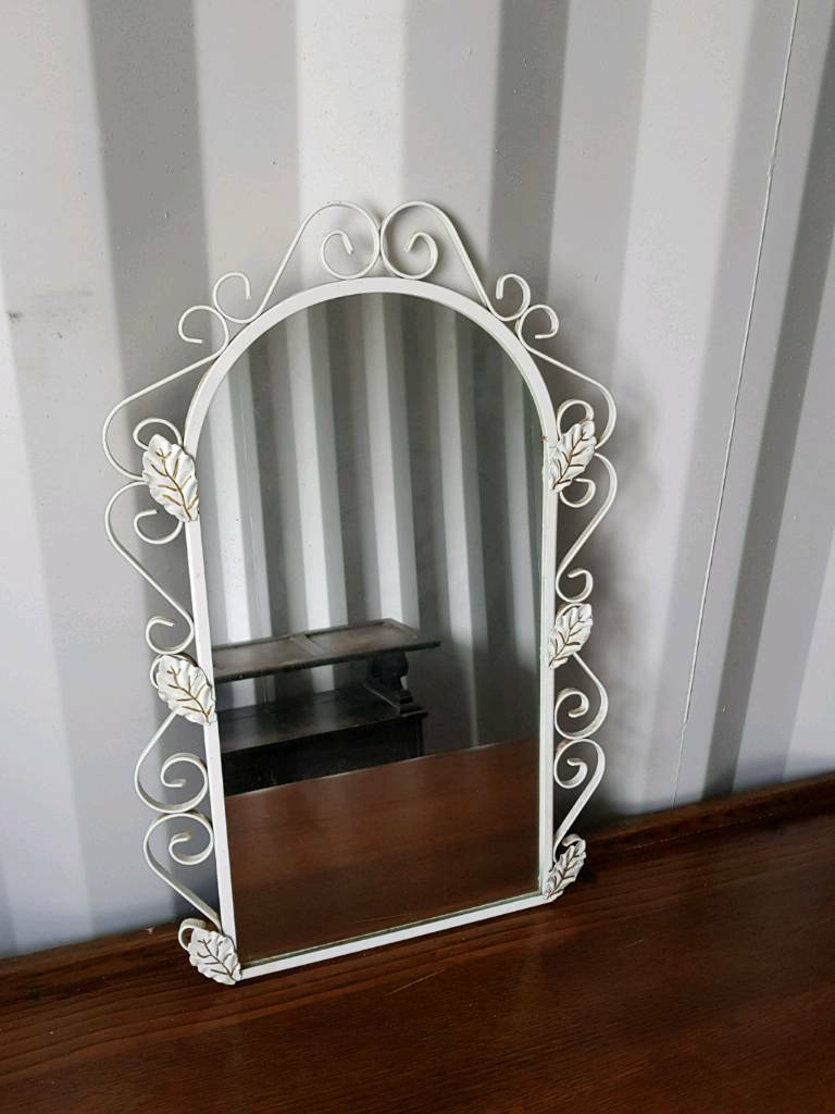Beautiful Metal Frame Glass Mirror In Teignmouth Devon
