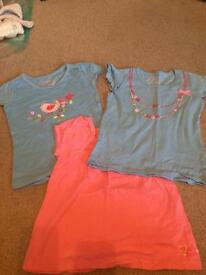 Girls Pumpkin Patch t shirts aged 3, years.