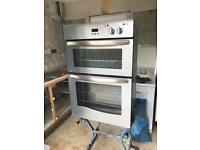 Newworld integrated electric double fan oven