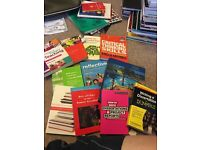 Selection of books ideal for university students on education courses