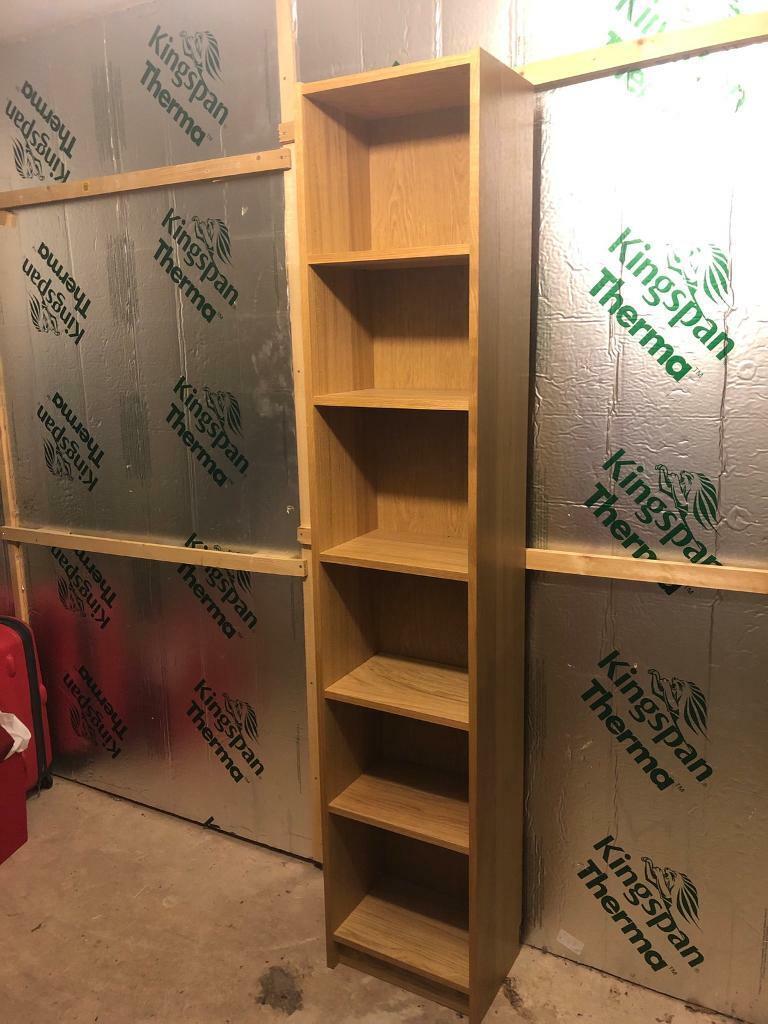 Ikea Billy Bookcase Oak Veneer In Bulwell Nottinghamshire Gumtree