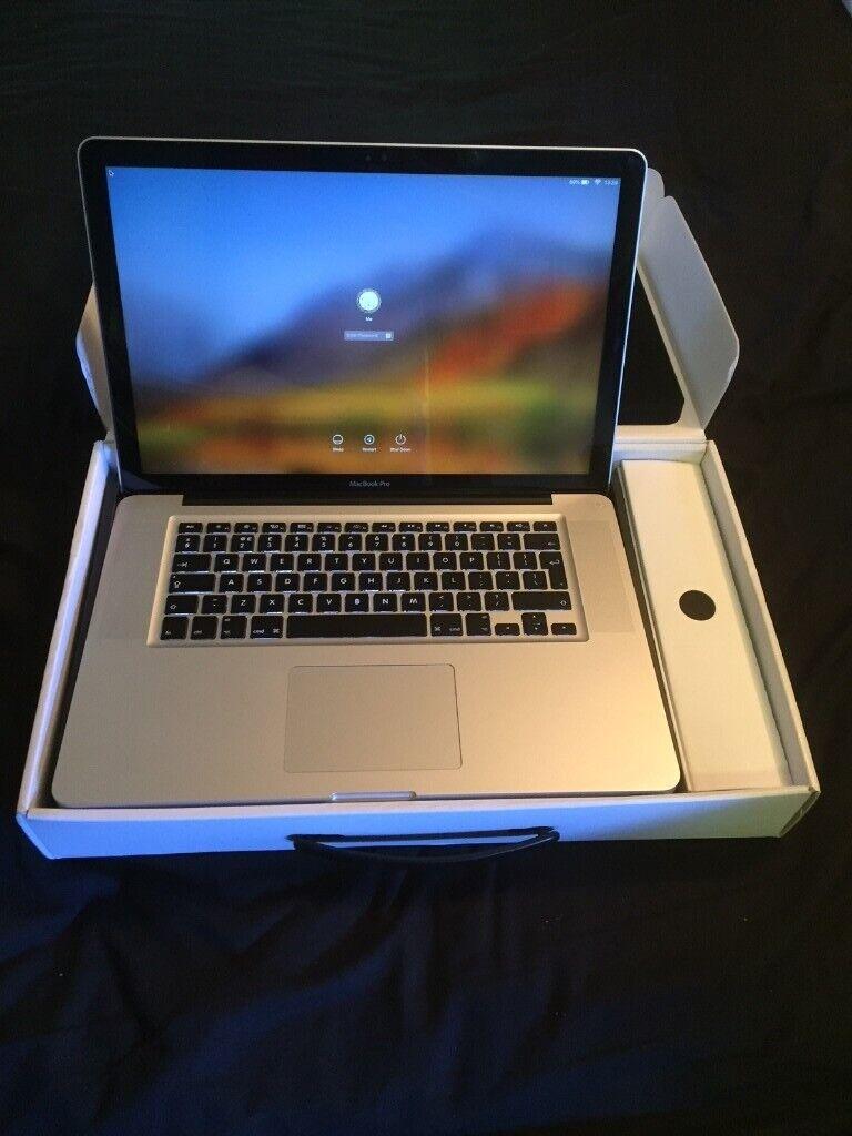 MacBook Pro Mid 2012, i7, 2 4GHz, 15inch, 16Gb RAM, 2x HDD, CS5, OS Mojave  + 10 Pro 64 bit | in Southport, Merseyside | Gumtree