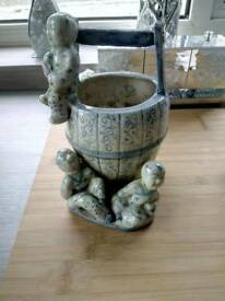 Antique chinese oriental pot