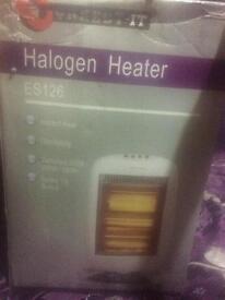Electric halogen heater brand new