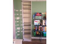 Ikea Tall Cupboard with metal shelves + Door (not on the pic)
