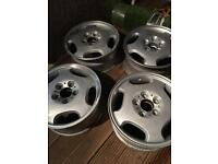 "16"" Mercedes alloys 5x112"
