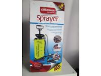 8 litre Manual Pump Pressure Washer for cleaning cars, bikes, trailers etc