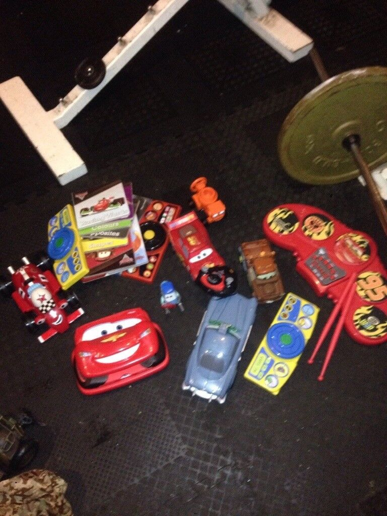 Various Disney cars items