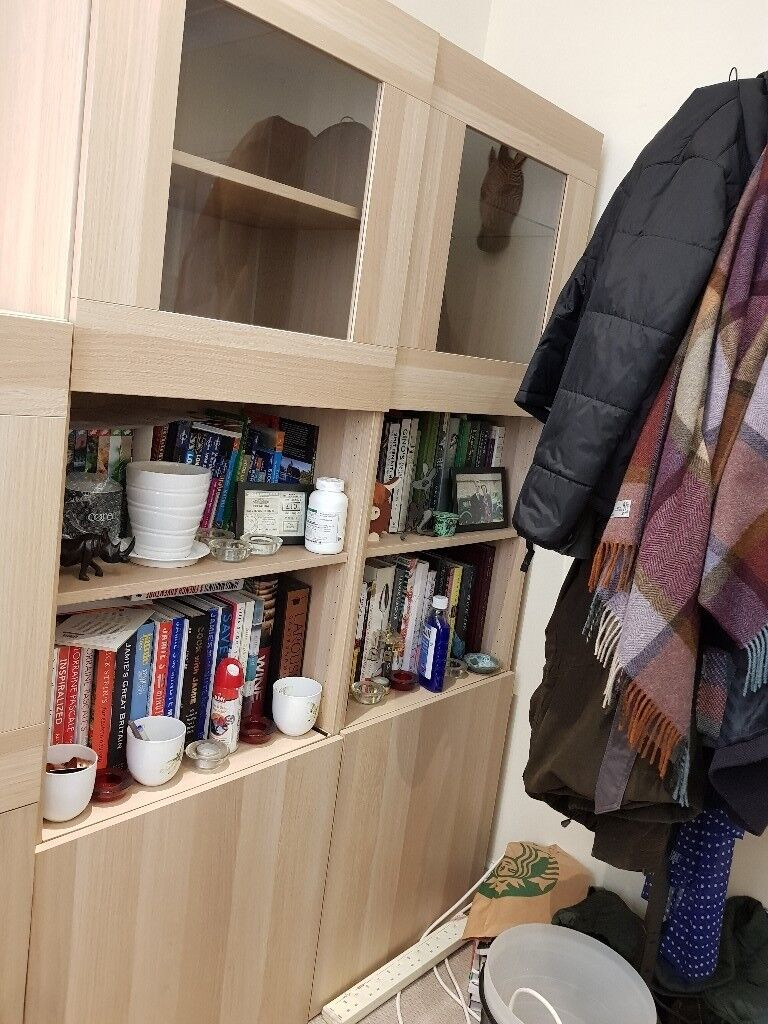 Ikea Besta Bookcase And Display Cabinets In Wimbledon London Gumtree