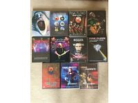 Collection of Pink Floyd, Roger Waters and David Gilmour DVD's - Excellent