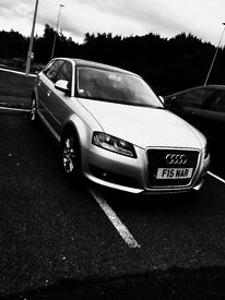 Audi A3 sportback SE. Low mileage & Lots of extras! Full black Pan roof, Never seen one like it!