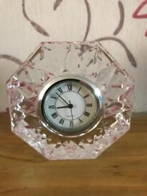 Glass/Crystal???.. Octagonal Novelty Clock