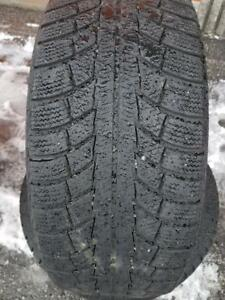 2 PNEUS HIVER - GISLAVED 215 55 16 - 2 WINTER TIRES