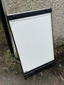 White Board Flip Chart