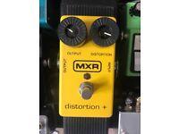 MXR Distortion Plus + Germanium Distortion Pedal