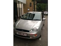 2001 FORD FOCUS. SILVER. 5DOOR. ALLOYS GOOD TYRES. DRIVES PERFECT. 07487705326