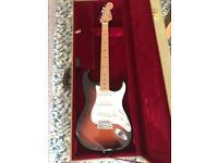 Mexican Fender Metallic Sunburst Stratocaster
