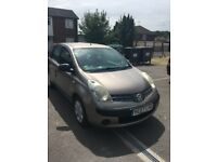 2007 NISSAN NOTE 1386 cc petrol manuel 5 speed 5 door hatchback £ 500, TEL : 07440018488
