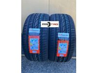2 X 255 35 20 XL POWERTRAC CITYRACING TYRES IDEAL FOR VANS AND CARS ZOOM TYRES