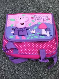 Mothercare Peppa Pig Satchel Backpack
