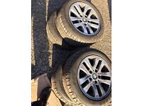 Official BMW 16inch Alloys and Almost new Firestone Runflat tyres (Set of 4) 205/55 R16