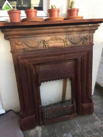 Beautiful detailed Victorian fire surround